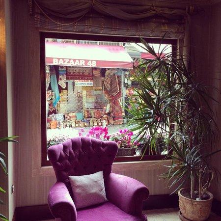 Sirkeci Mansion: Dettaglio della hall