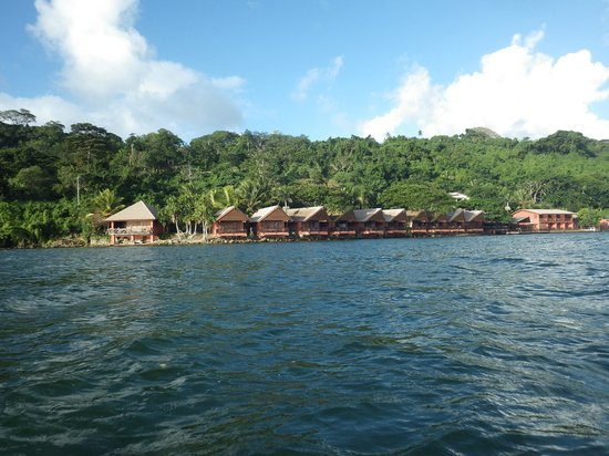 Sunset Bungalows Resort: Canoe view!