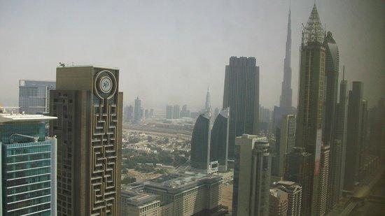 Millennium Plaza Hotel Dubai : Blick aus dem Fenster