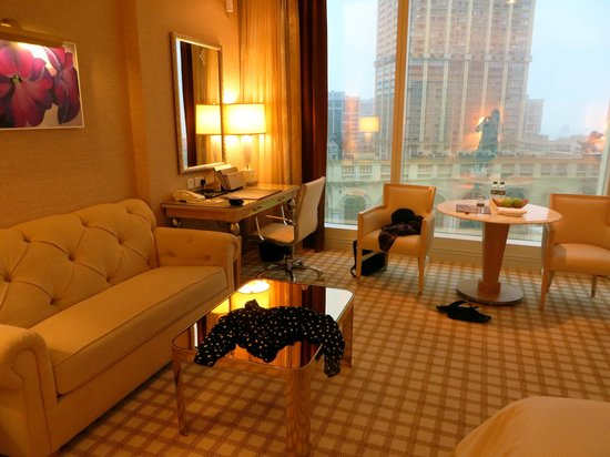 Wynn Macau : Room on the 20th floor