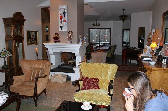 Hotel Berg : Il salotto