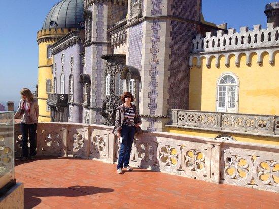 Palacio Nacional de la Pena: Смотровая площадка