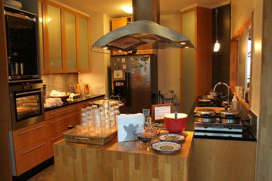 Hotel Berg : La cucina