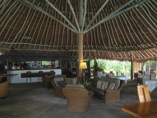 Paradise Cove Resort: Intérieur du restaurant