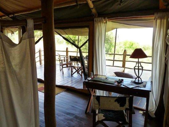 Kilima Camp: La terrasse 2