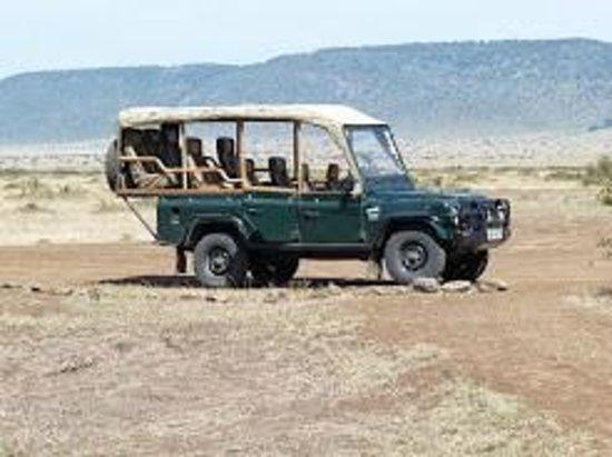 Kilima Camp : Le 4x4 de Kilima