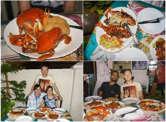 Rose Garden Restaurant: amazing sea food