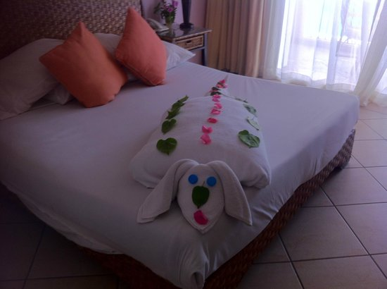 Jaz Mirabel Club: Incredible towel art