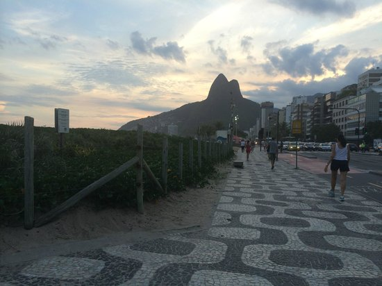 Mar Ipanema Hotel: 2 blocks from Ipanema