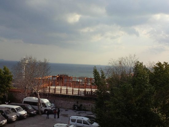 Sultanahmet Palace Hotel : view from room