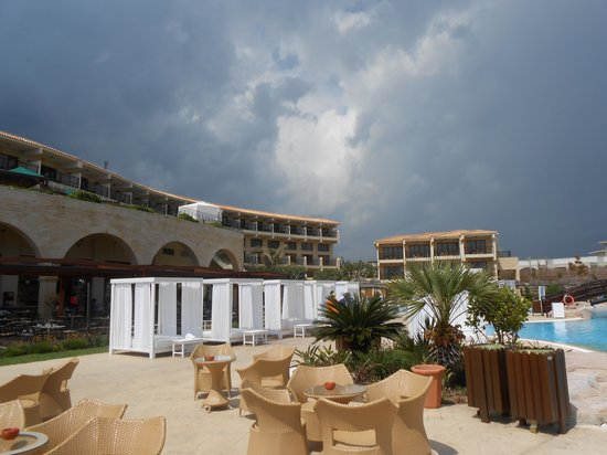 Atlantica Imperial Resort & Spa : Just before the storm