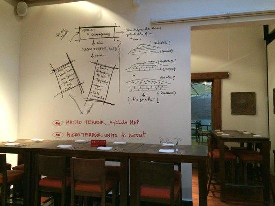 Bocanariz: All about Chilean wine... even the wall decor!