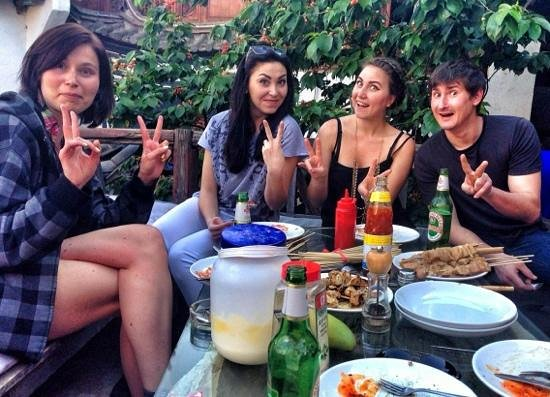 Stone the Crows: best barbecue :)
