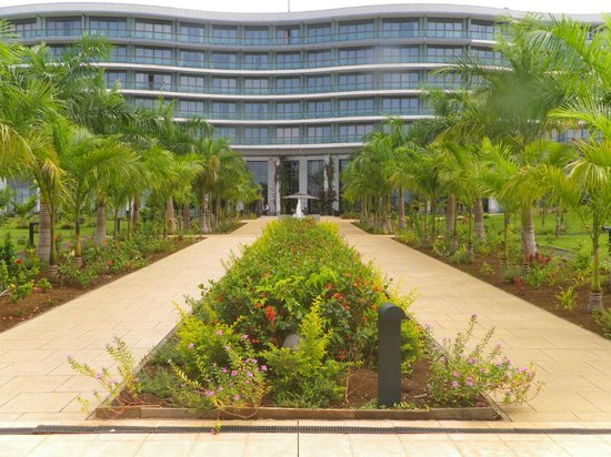 Sofitel Malabo Sipopo Le Golf: View from the beach