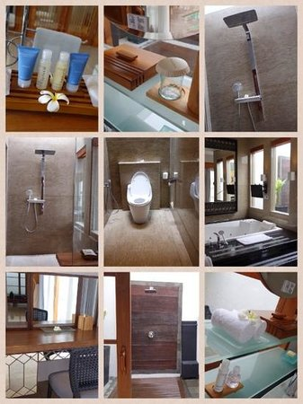 The Samaya Bali Seminyak : huge & beatiful bathroom
