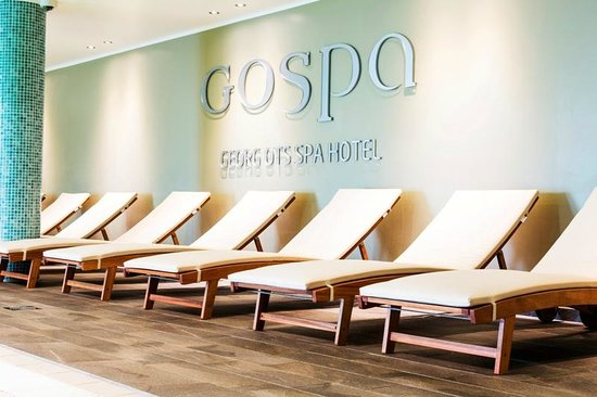 Georg Ots Spa Hotel: GOSPA Pools and saunas