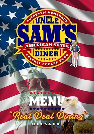 Uncle Sam's American Diner: our logo