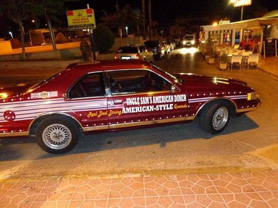 Uncle Sam's American Diner: Our Fab Car