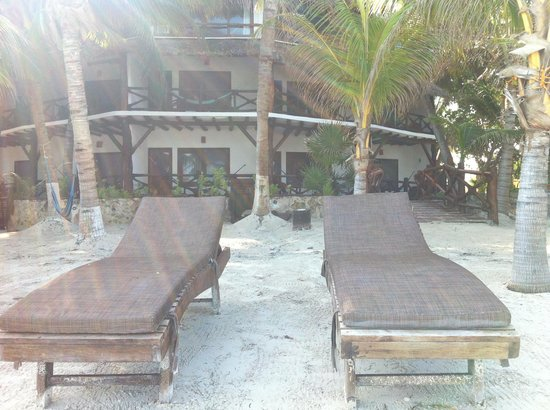 Beachfront La Palapa Hotel Adult Oriented : spiaggia1