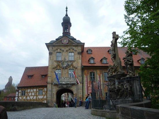 Bamberg Altstadt: Вход в старый город