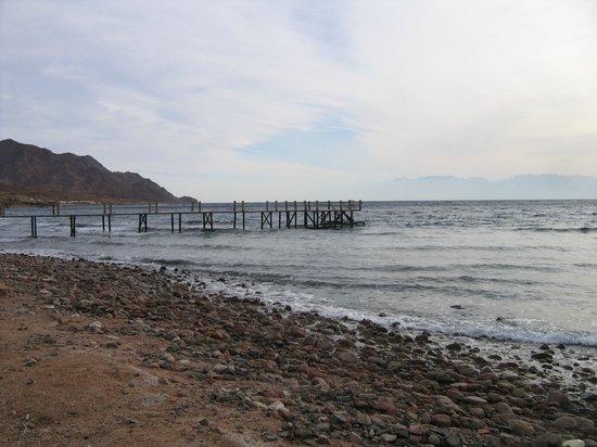 Sea Sun Hotel Dahab: вход в море