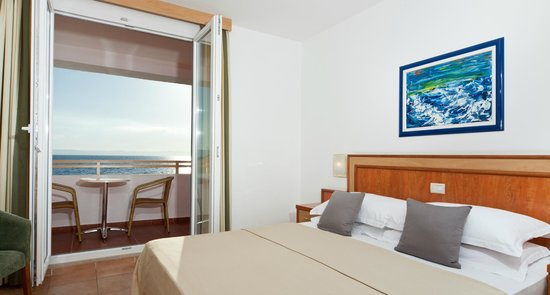 Bluesun Resort Afrodita : Standard Double Room with Sea View