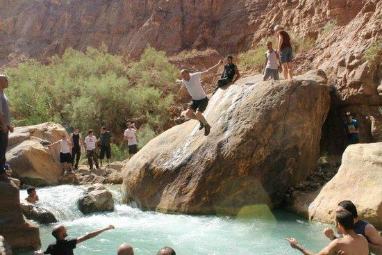 Mujib Nature Reserve: Zarqa Maien
