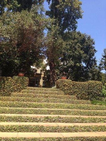 De Hoek Country Hotel: Steps