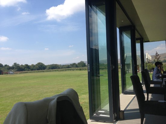 De Hoek Country Hotel: View from Bistro