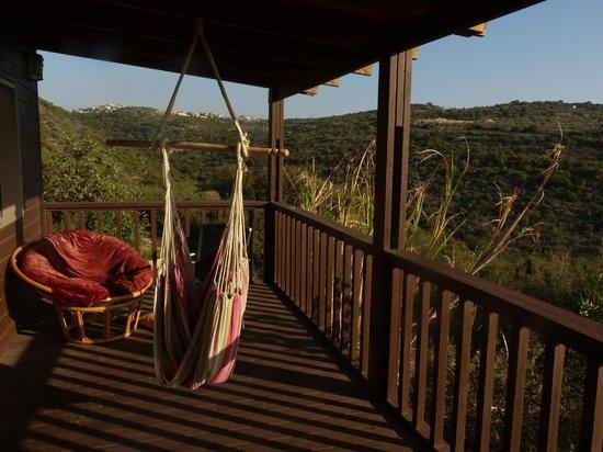 Smadar beClil Cabins: The porch
