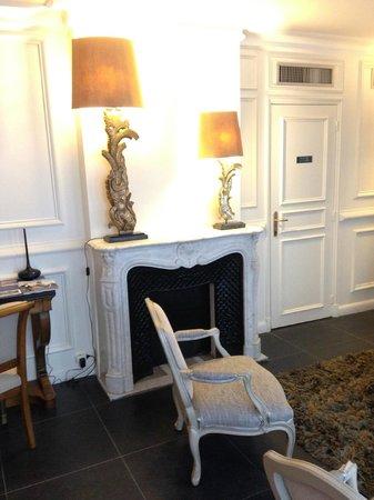 Hôtel Jardin Le Bréa : Lobby