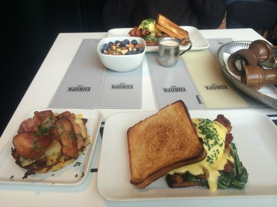 Cafe Europa: Brunch