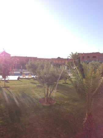 Ryad Mogador Kasbah: La vue de la terrasse de la chambre