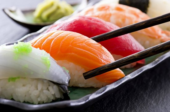 19 Oriental Avenue: Assorted sushi platters