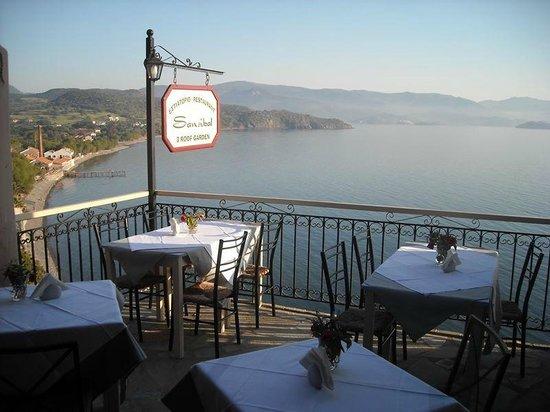 Sansibal Restaurant : Back terrace