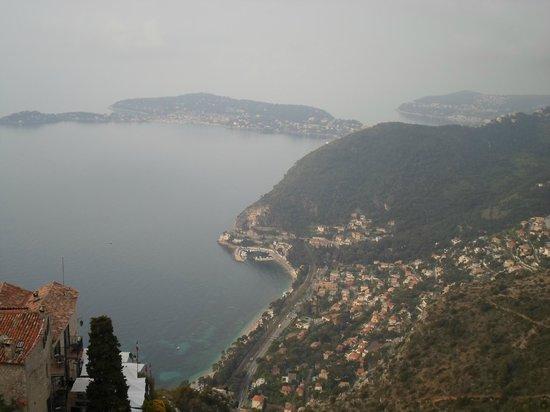Vieux Eze : Vista spettacolare