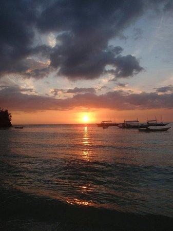 Logon Beach: Sunset