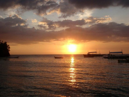 Logon Beach: 夕阳