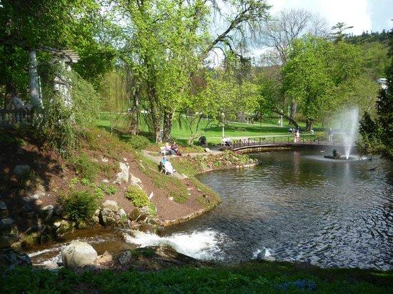New Baths : Уголки парка