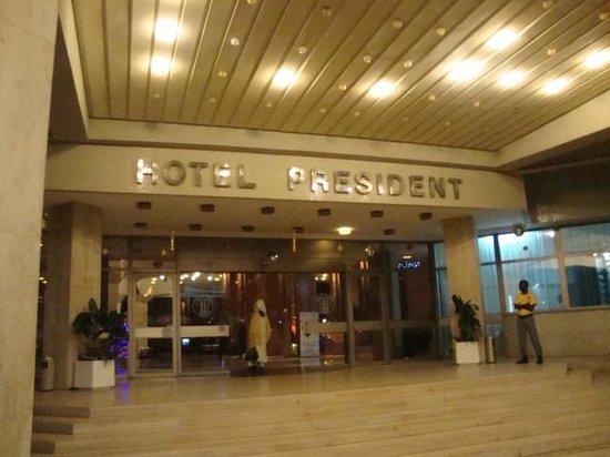 Hotel President: ingresso hotel