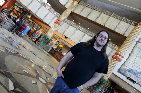 Kalahari Resorts & Conventions: Main lobby