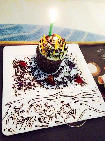 Le Meridien Bali Jimbaran: Thank you for my Birthday Surprise!