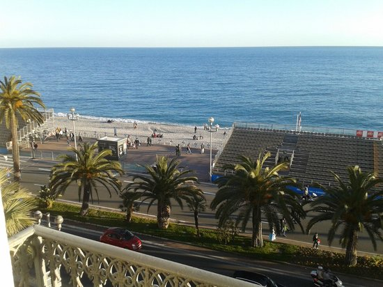 Hotel West End : panorama da balcone