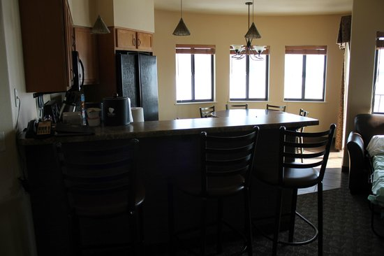 Kalahari Resorts & Conventions: kitchen in our room