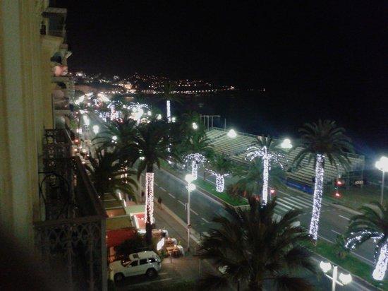 Hotel West End : vista notturna