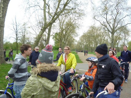 Fat Tire Bike Tours - London: In the Park
