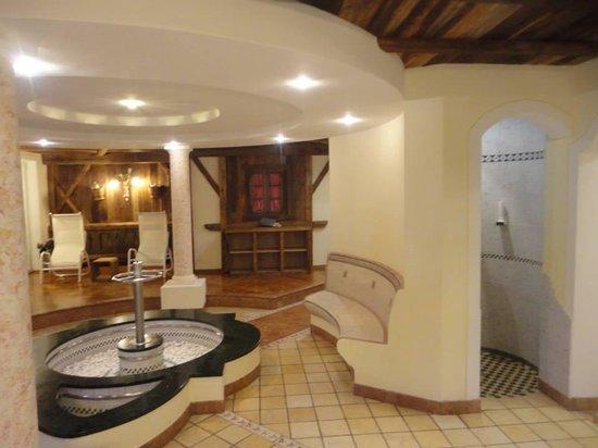 Hotel Haller: Zona relax SPETTACOLARE