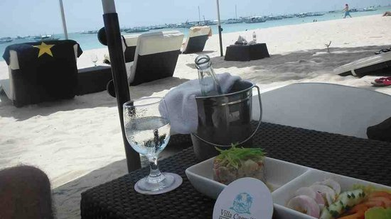 ceviche, lunch time