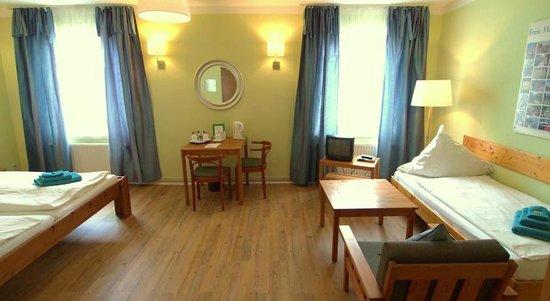 Hotel Buthman im Zentrum: triple room