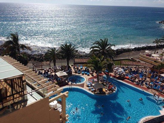 Hotel Bull Dorado Beach & Spa : Uitzicht vanaf 712